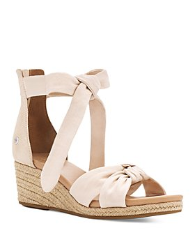 UGG® - Women's Yarrow Ankle Tie Espadrille Wedge Sandals