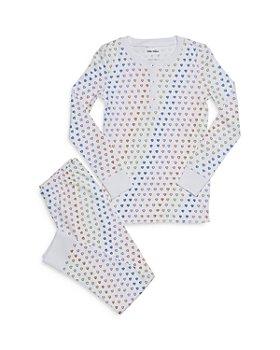 Roller Rabbit - Unisex Disco Hearts Pajama Set - Little Kid, Big Kid