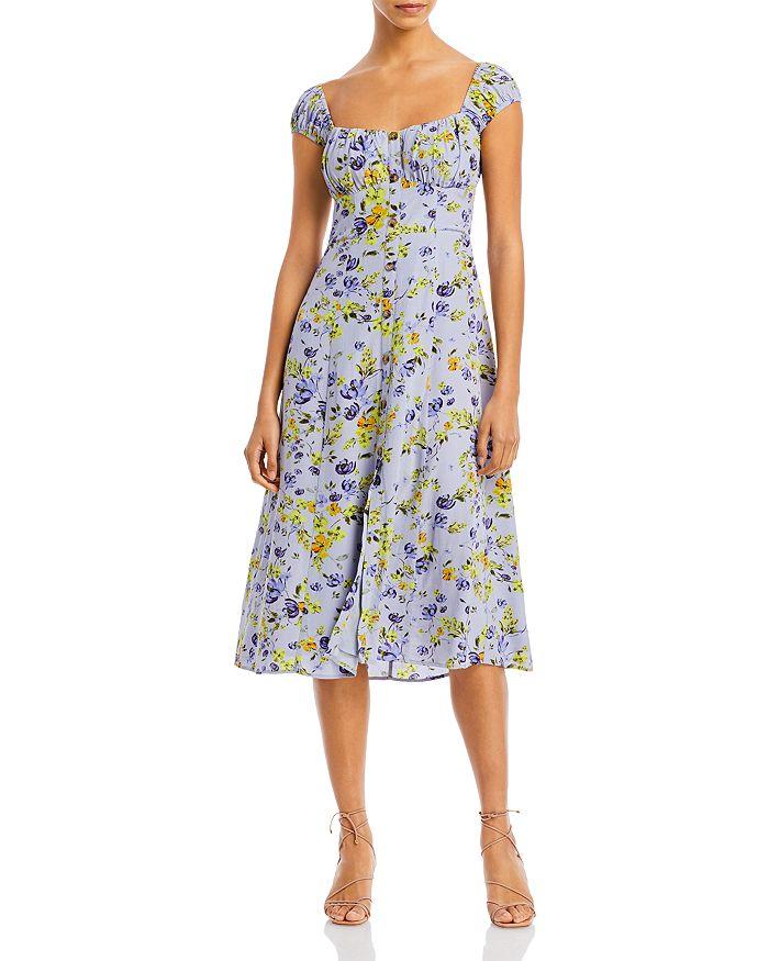 ASTR the Label - Bonjour Printed Midi Dress