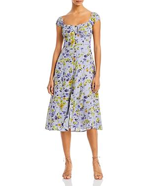 Bonjour Printed Midi Dress