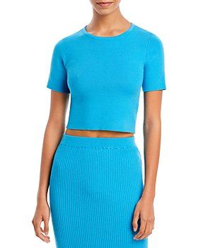FORE - Knit Cropped Top