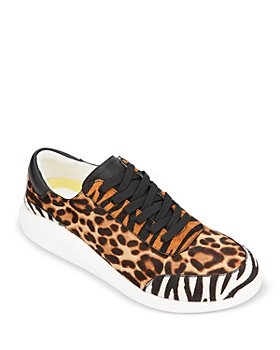 Kenneth Cole - Women's Mello Printed Calf Hair Low Top Sneakers