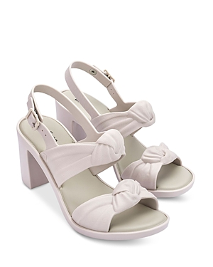 Women's Knotted Slingback High Heel Sandals