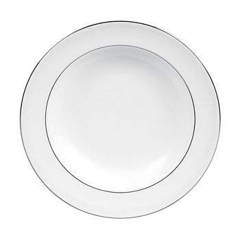 Wedgwood - Blanc Sur Blanc Rim Soup Bowl