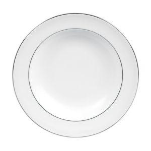 Vera Wang Wedgwood Blanc Sur Blanc Rim Soup Bowl