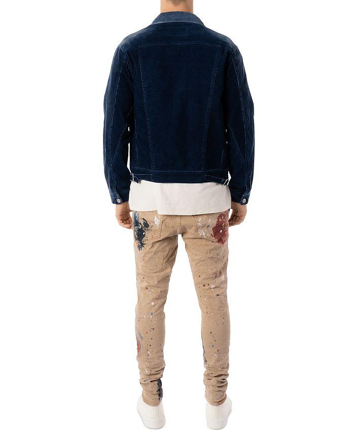 PURPLE BRAND Jeans SLIM FIT PAINT SPLATTER JEANS IN SANDSTONE