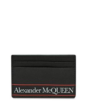 Alexander McQUEEN - Leather Logo Card Case