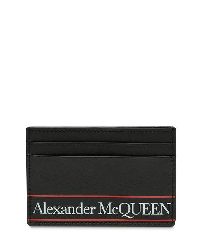 Alexander Mcqueen ALEXANDER MCQUEEN LEATHER LOGO CARD CASE