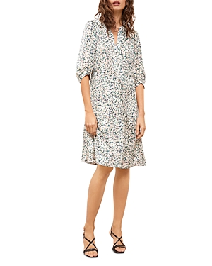 Gerard Darel Abstract Print Sun Dress