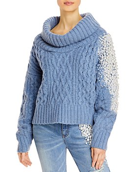 Hellessy - Faux Pearl Sweater