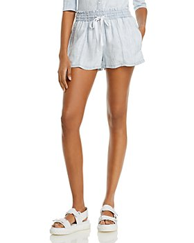 Bella Dahl - High Waist Drawstring Shorts