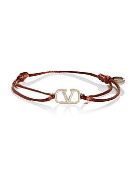 Valentino Garavani - Logo Cord Bracelet