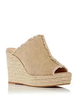 Women's Fatima Espadrille Wedge Platform Slide Sandals