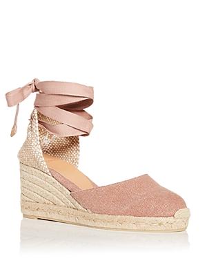 Women's Carina Ankle Tie Espadrille Wedge Sandals
