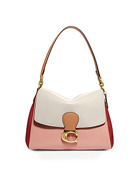 COACH - May Small Pebble Leather Shoulder Bag