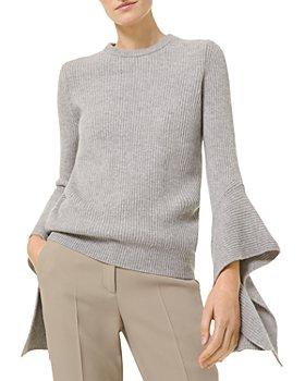 Michael Kors - Cashmere Flare Sleeve Sweater