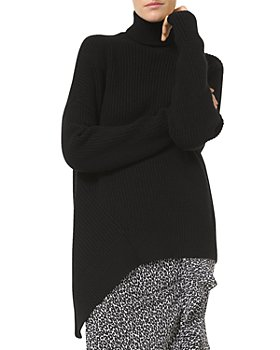 MICHAEL Michael Kors - Cashmere Asymmetric Turtleneck Sweater