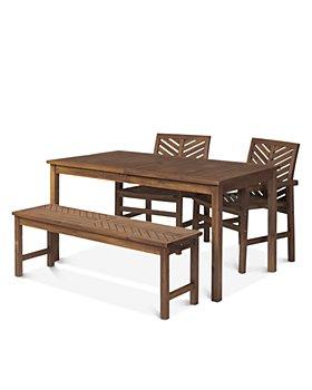 Sparrow & Wren - Harbor 4 Piece Outdoor Patio Dining Set