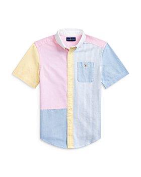 Ralph Lauren - Boys' Funshirt Color Block Short Sleeve Shirt - Little Kid, Big Kid