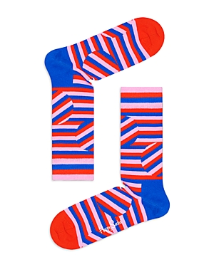 Jumbo Dot Striped Socks