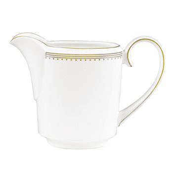 Wedgwood - Golden Grosgrain Creamer