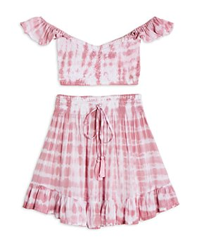 Tiare Hawaii - Girls' Hollie Cropped Top and Lily Rose Skirt - Big Kid