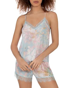 Romantic Floral Print Pajama Set