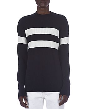 Marni - Chunky Rib Knit Striped Sweater