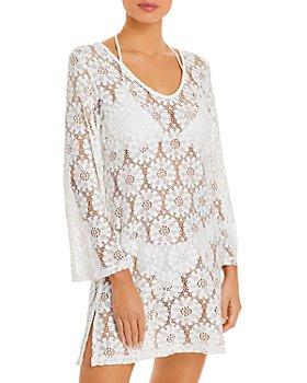 J. Valdi - Tulum Crochet Cover Up Mini Dress