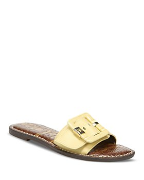 Sam Edelman - Women's Granada Slip On Buckled Sandals