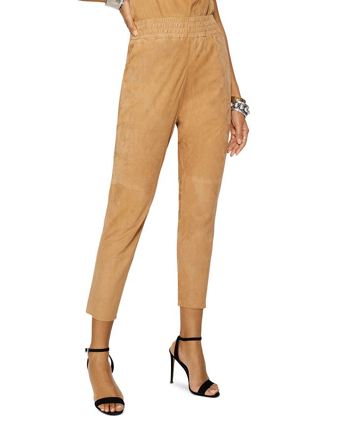 Ramy Brook FABLE SUEDE PANTS