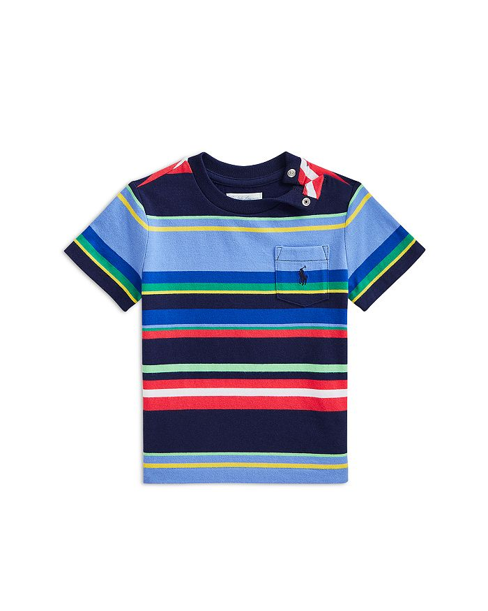 Ralph Lauren POLO RALPH LAUREN BOYS' STRIPED COTTON TEE - BABY