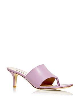 Elleme - Women's Samba Kitten Heel Thong Sandals