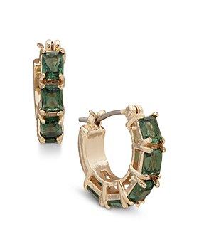Ralph Lauren - Stone Hoop Earrings
