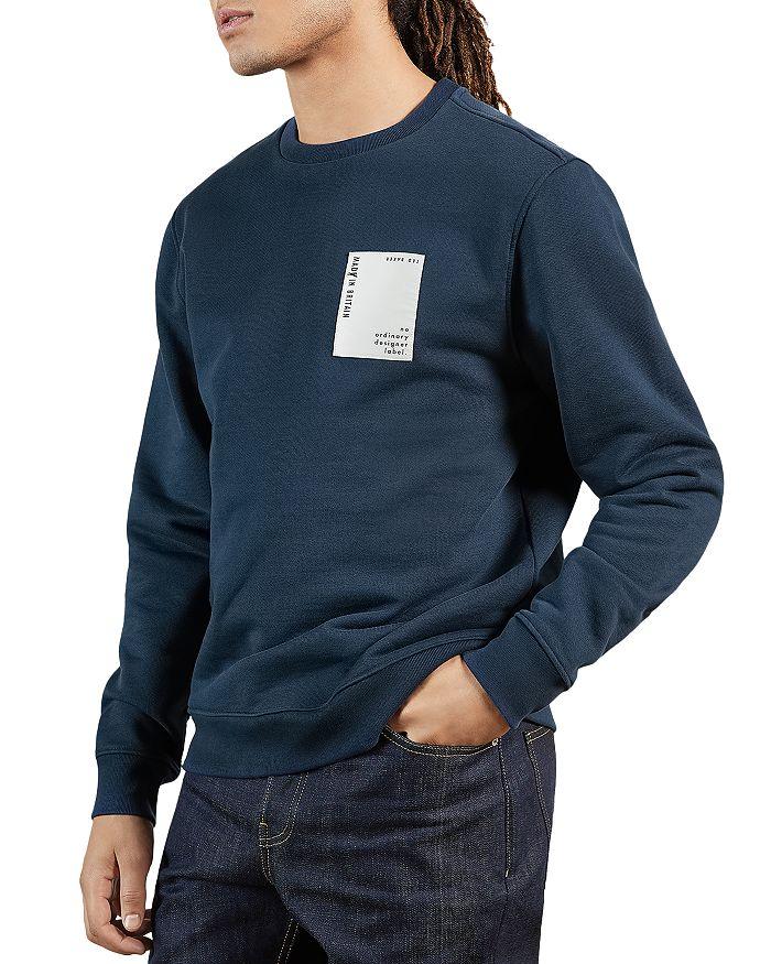Ted Baker Sweatshirts MADE IN BRITAIN LOGO LABEL SWEATSHIRT
