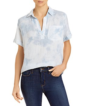 Rails - Savannah Tie Dye Collared Shirt