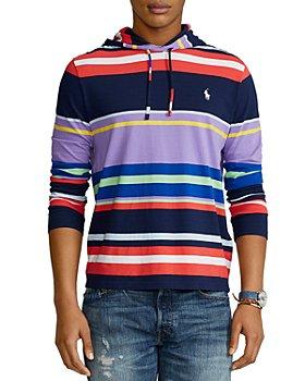 Polo Ralph Lauren - Striped Jersey Hooded Tee