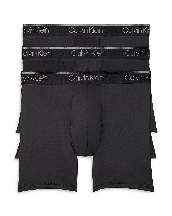 Calvin Klein Briefs MICROFIBER STRETCH BOXER BRIEFS - PACK OF 3