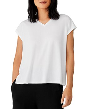 Eileen Fisher - V-Neck Boxy Top