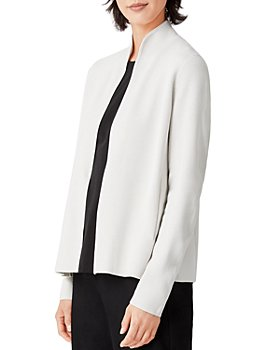 Eileen Fisher - Stand Collar Open Jacket