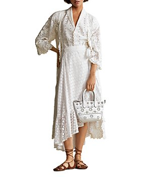 Ralph Lauren - Embroidered Lace Duster Jacket