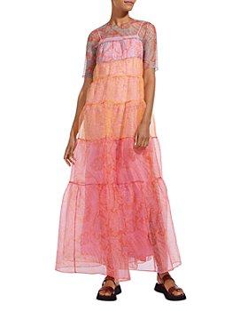 STAUD - Hyacinth Ruffled Maxi Dress