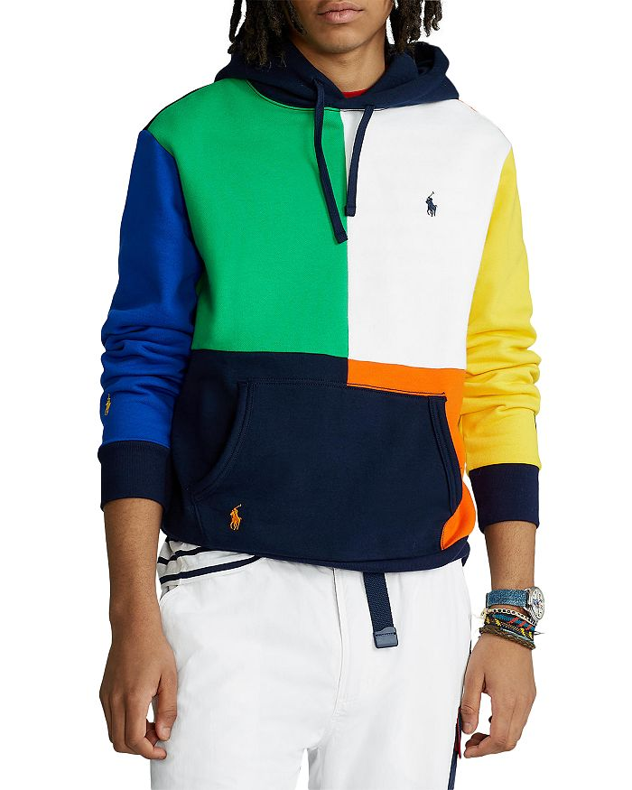Polo Ralph Lauren - Colorblocked Fleece Hoodie