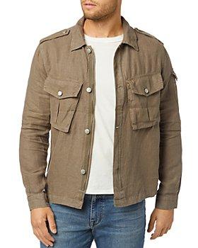 Joe's Jeans - Linen Regular Fit Military Jacket