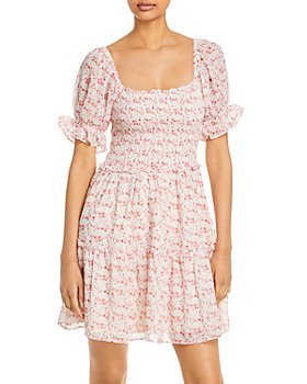 Lucy Paris - Floral Smocked Dress