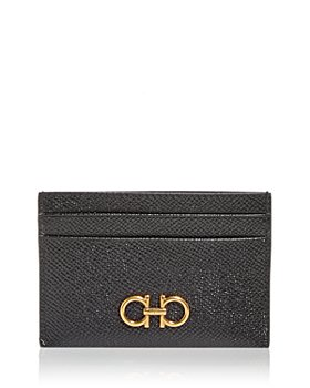 Salvatore Ferragamo - Gancini Leather Card Case