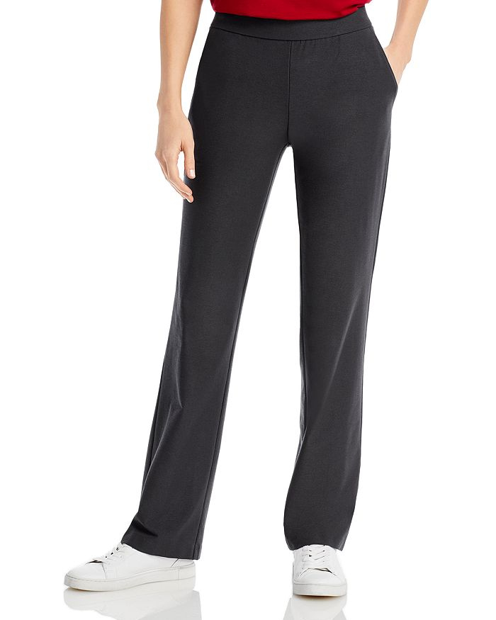Eileen Fisher - Straight Leg Pants - 100% Exclusive