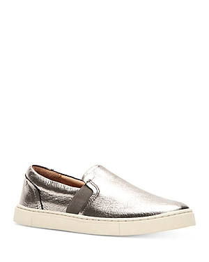 Frye Flats WOMEN'S IVY LEATHER LOAFER SNEAKERS