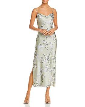 Vince - Hazy Blossom Midi Slip Dress