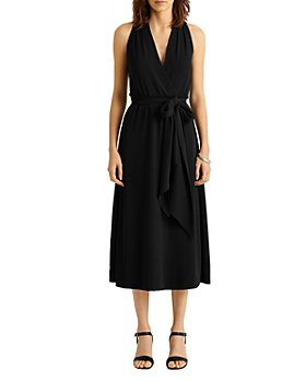 Ralph Lauren - Crepe Halter Midi Dress - 100% Exclusive